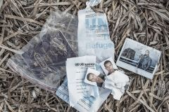 This passport and documents of refugee status are been voluntarily abandoned in a beach at northern coast of Lesvos Island. European authorities give priority for asylum to Syrian refugees, so many Afghan refugees abandon their ID cards believing that in this way they will have more options to be welcomed.